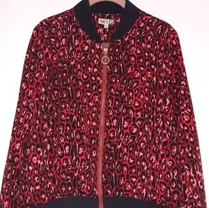 Jackets & Blazers - THAT'S IT PINK AND BURGUNDY BUMBER JACKEY